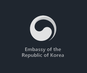 Logo Embassy of the Republic of Korea